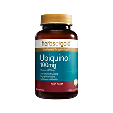 Herbs of Gold Ubiquinol 100mg 30c