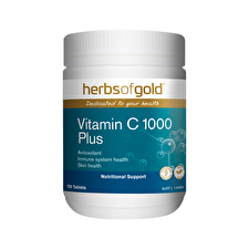 Herbs of Gold Vitamin C 1000 Plus Zinc, Bioflavonoids 120t