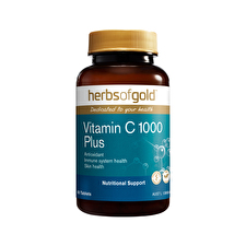 Herbs of Gold Vitamin C 1000 Plus Zinc, Bioflavonoids 60t