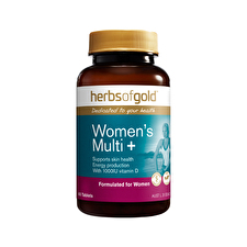 Herbs of Gold Women's Multi plus Grapeseed 12000 60t