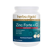 Herbs of Gold Zinc Forte plus C 100g
