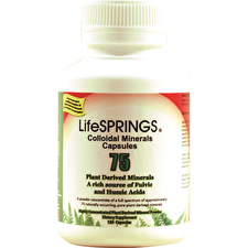 LifeSprings Colloidal Minerals 300mg 120c