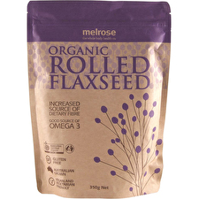 Melrose Organic Rolled Flaxseed 350g