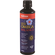 Melrose Organic Omega Balance 250ml (Plastic Bottle)