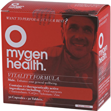 Mygen Health Vitality Formula Male 30t and 30c