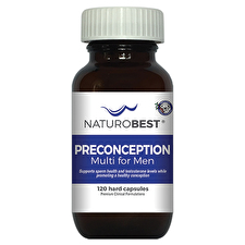 NaturoBest Preconception Multi for Men 120c