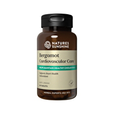 Nature's Sunshine Bergamot Cardiovascular Care 60t