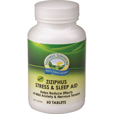 Nature's Sunshine Ziziphus Stress and Sleep Aid 60t