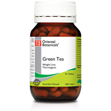 Oriental Botanicals Green Tea 50t
