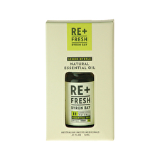 ReFresh Byron Bay Lemon Myrtle Essential Oil Boxed 12ml