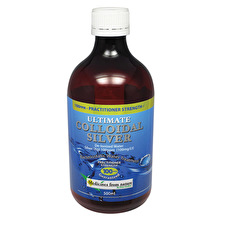Medicines NatureUlt.Coll Silver Prac.Strngth 100ppm 500ml