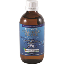 Ross Gardiner Ultimate Colloidal Silver 50ppm 200ml