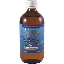 Ross Gardiner Ultimate Colloidal Silver 50ppm 500ml