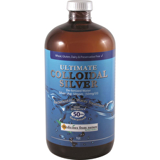 Medicines From Nature Ultimate Colloidal Silver 50ppm 1000ml