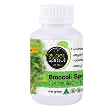 Super Sprout Broccoli Sprout Capsules 100c
