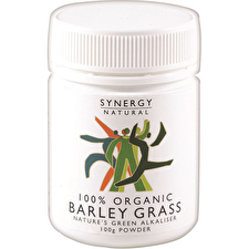 Synergy Natural Organic Barley Grass Powder 100g
