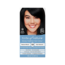 Tints of Nature Permanent Hair Colour Natural Black 1N