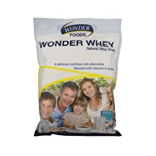 Wonder Foods Natural Whey Drink 1kg